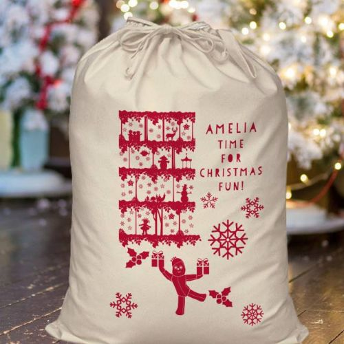 Personalised In The Night Garden Christmas Fun Sack